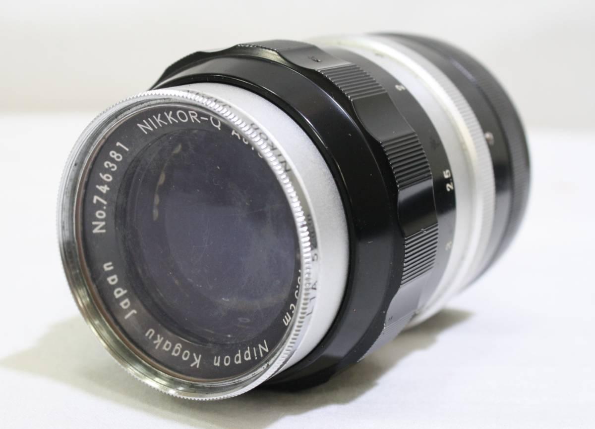 ジャンク品 NIKON ニコン 一眼レフ フィルムカメラ NIKON F NIKKOR S 1:1.4 f=50mm NIKKOR Q 1:3.5 f=13.5cm NIKKOR H 1:3.5 f=2.8cm_画像7
