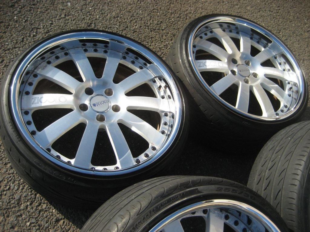 深邃,稀有,美國獨創性ZIGOLO 9.5J + 30? 10.5 J + 25?用於Century Crown Majesta Celsior Fuga Cima Lexus SC.GS 編號:s621041763