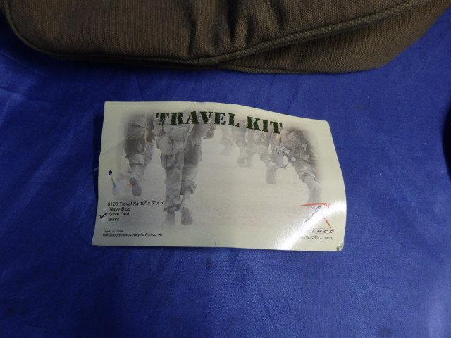 d4b722bc94 代購代標第一品牌 - 樂淘letao - 54 Rothco Canvas Travel Kit - 8126 Olive  Drab トラベルキット ポーチ