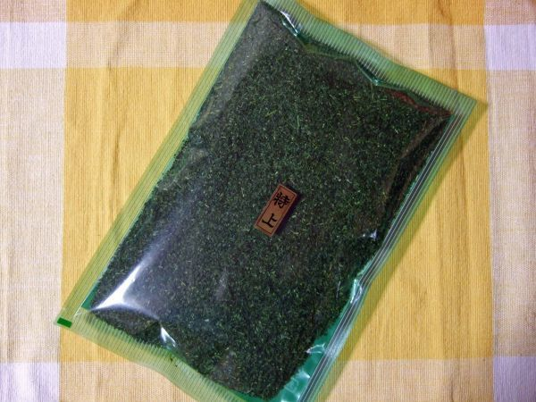 こだわりのお茶屋さんの特上粉茶★煎茶粉茶300g平袋★人気商品_画像1