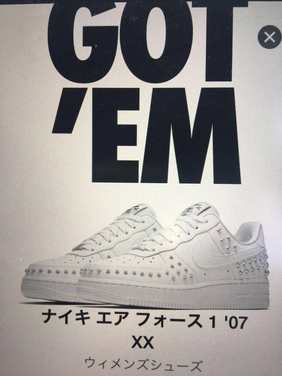 ff8070fd3 Nike Air Force 1XX STAR STUDDED star studs Nike Air Force 1 Low Star pack