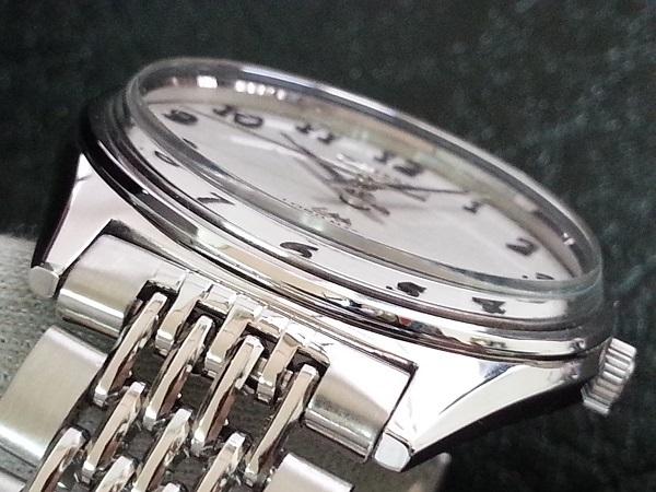 大野時計店 セイコー ロードマチック 5601-9000 自動巻 1968年12月製造 アラビア数字 希少_画像4