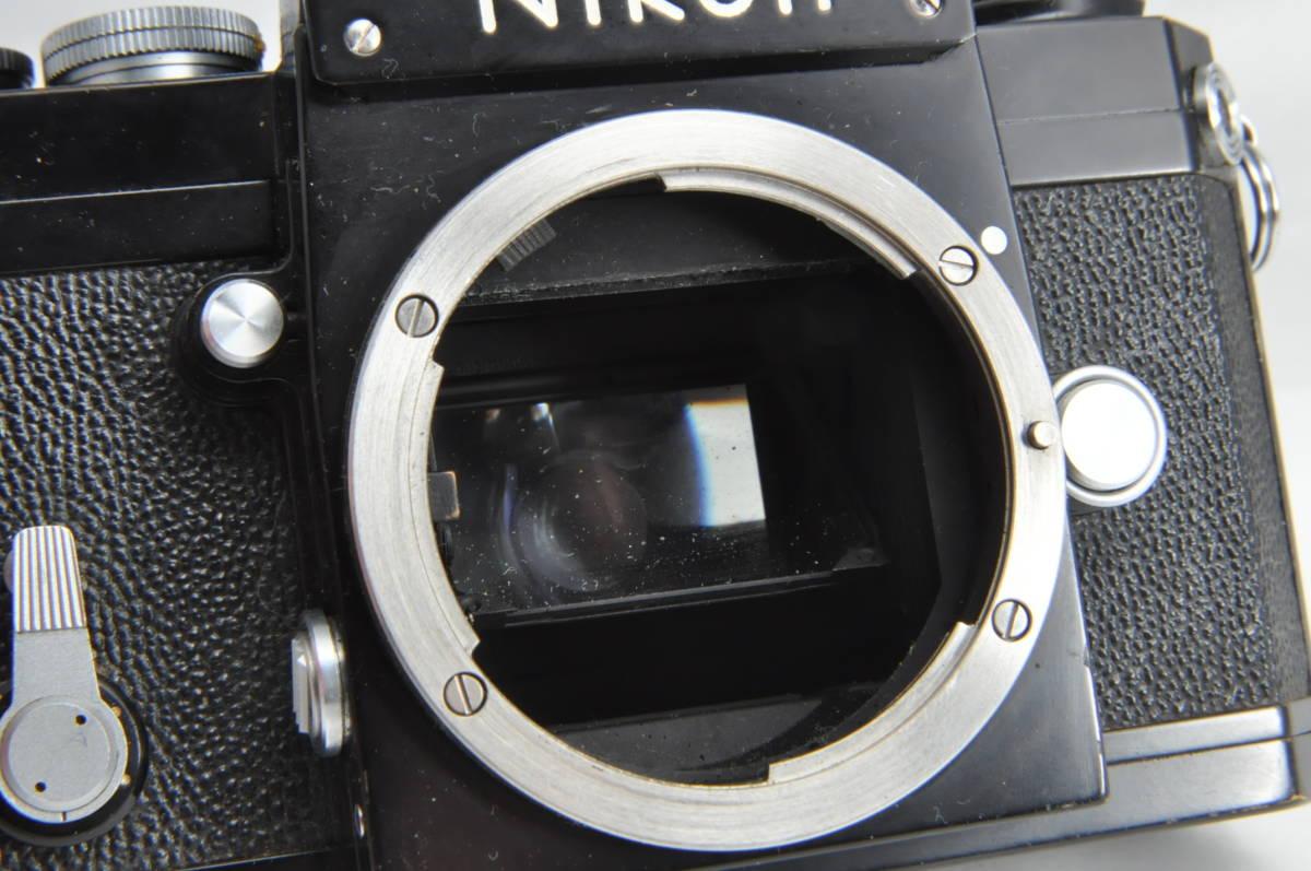 #2970 NIKON F アイレベル ブラックボディ NIKKOR-HC 50mm F2 ニコン 黒 レンズ付き フィルムカメラ_画像8