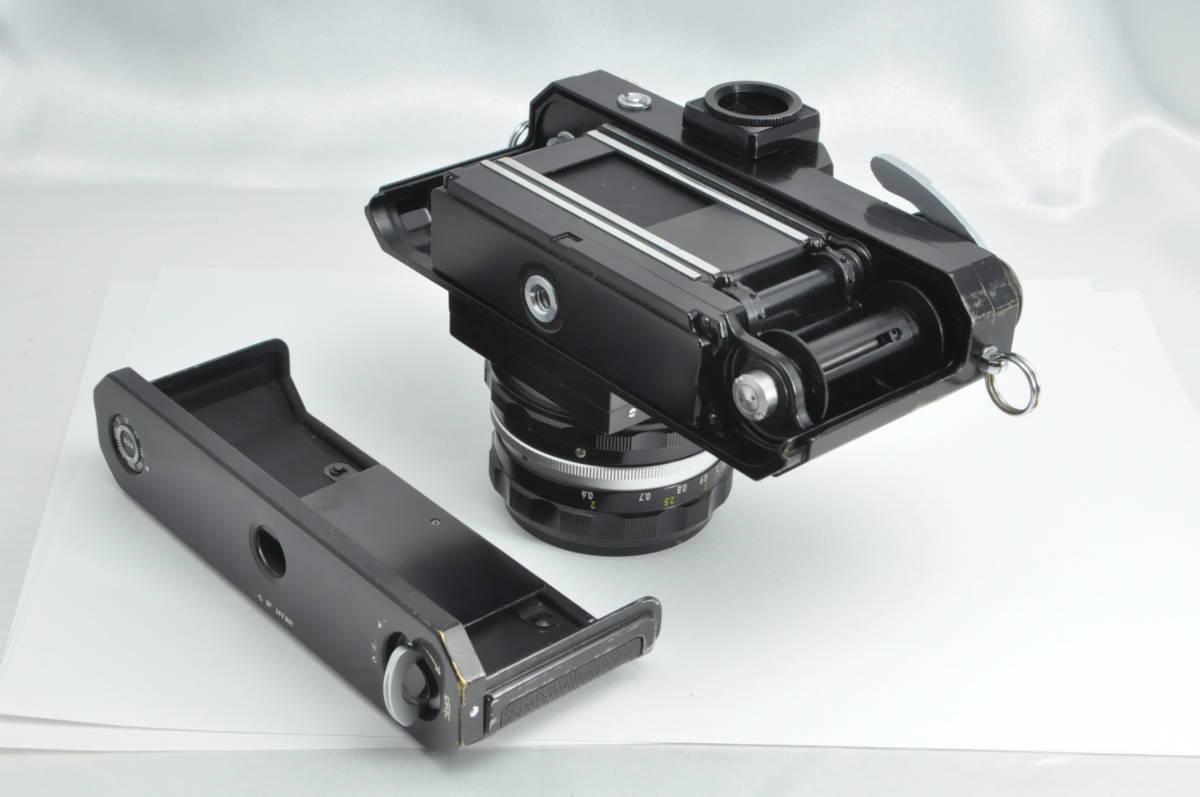 #2970 NIKON F アイレベル ブラックボディ NIKKOR-HC 50mm F2 ニコン 黒 レンズ付き フィルムカメラ_画像6
