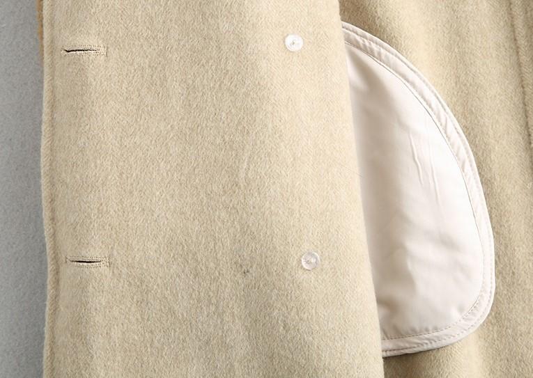 ◆◆◆有名デザイナー特別オーダー受付◆◆◆世界で自分だけのコート♪ウールレザー毛皮 トシープスキンラムXmas presentにいかが?(^^♪_画像9