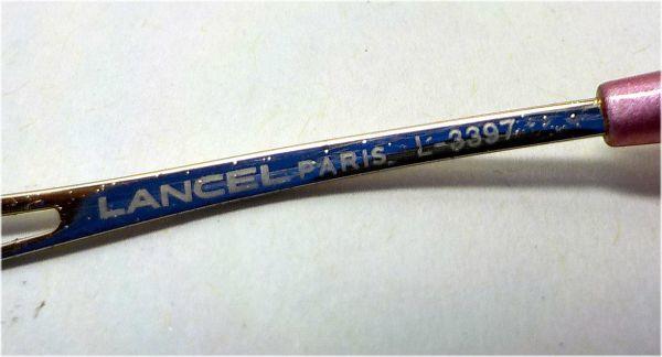 展示品 LANCEL メガネフレーム L-3397 55口17-135  _画像6