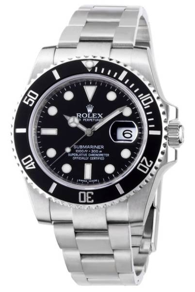 【HQ】*:..。☆本物ROLEX/SUB MARINER/116610LN黒/新古品