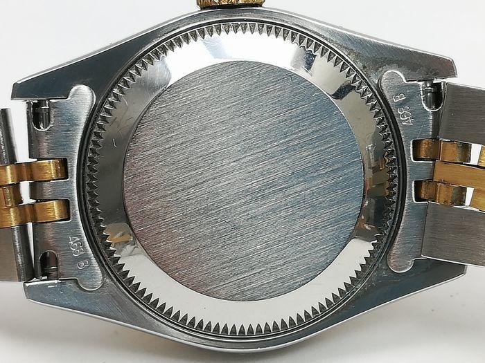 ROLEX ロレックス レディース 時計 デイトジャスト オートマチック 69173 YG/SS ホワイトローマン文字盤 ジャンク  _画像7