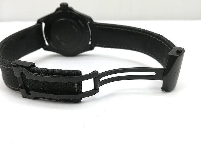 良品!アクアレーサー キャリバー5 セラミック ブラックファントム限定モデル 41mm_画像7