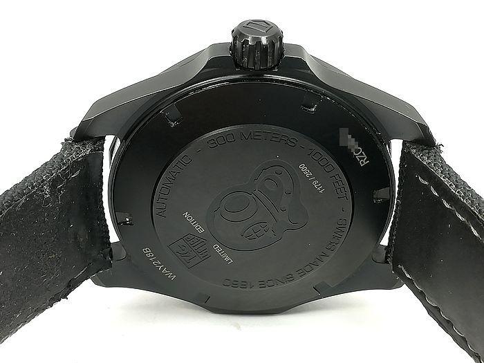 良品!アクアレーサー キャリバー5 セラミック ブラックファントム限定モデル 41mm_画像6