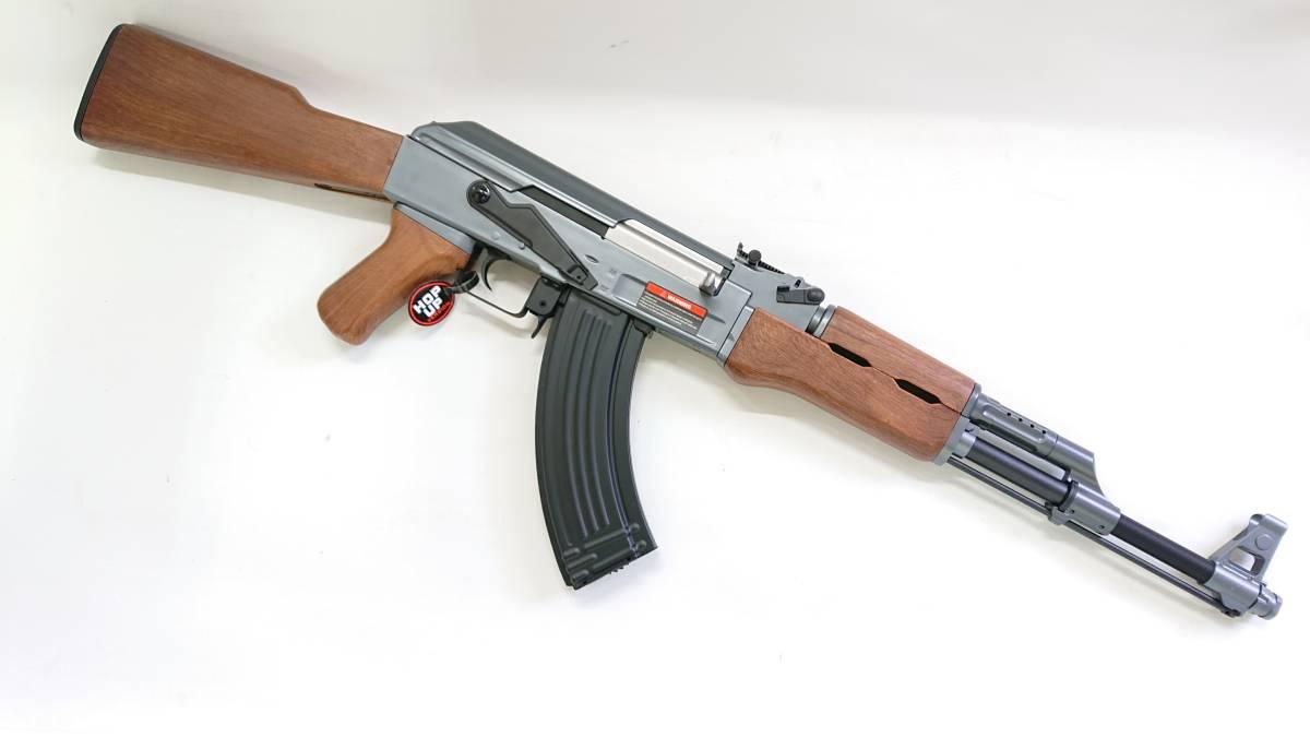 【1円出品】CYMA AK47スポーツライン70mオーバー ロングレンジカスタム_画像2