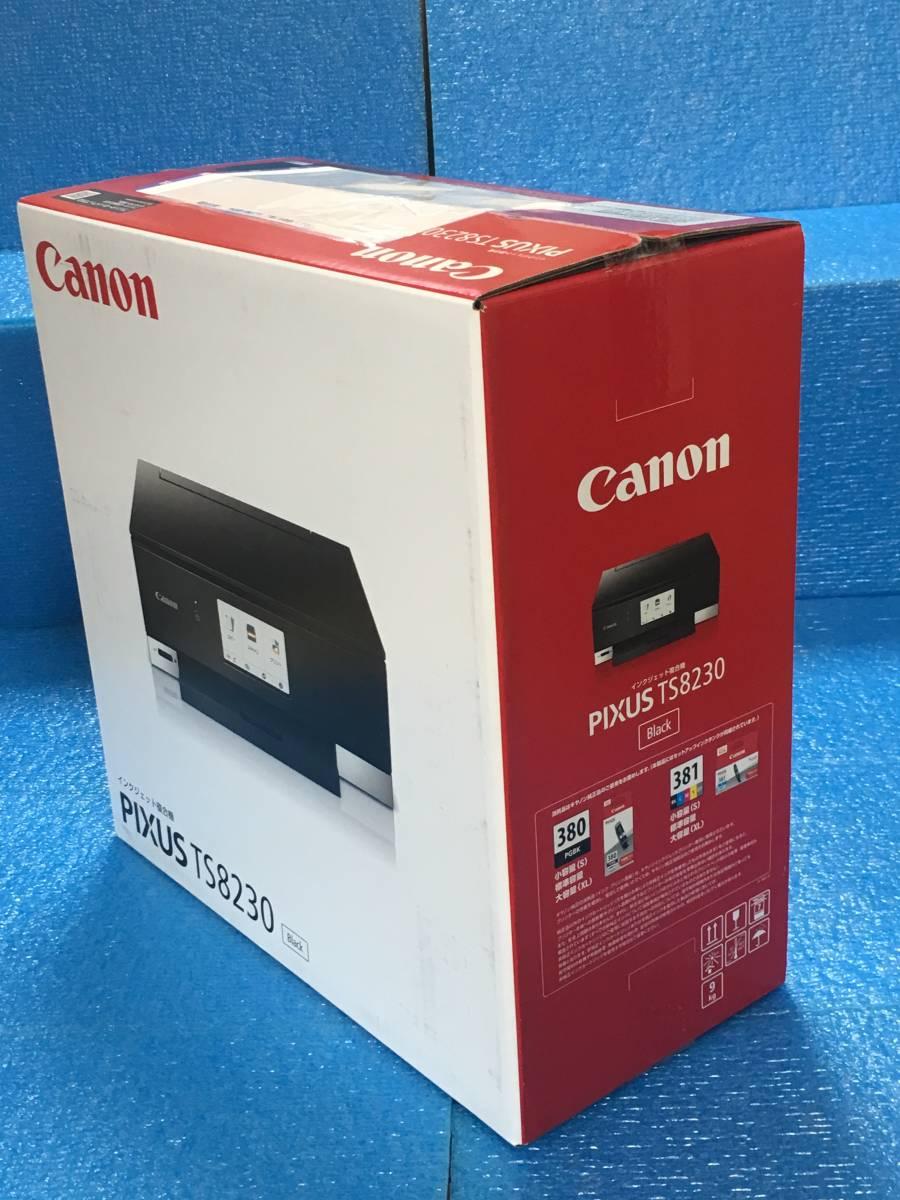 Canon プリンター インクジェット複合機 PIXUS TS8230 ブラック (PIXUSTS8230BK)_画像3