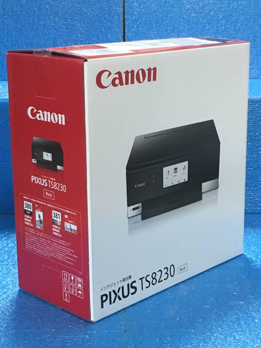 Canon プリンター インクジェット複合機 PIXUS TS8230 ブラック (PIXUSTS8230BK)_画像2