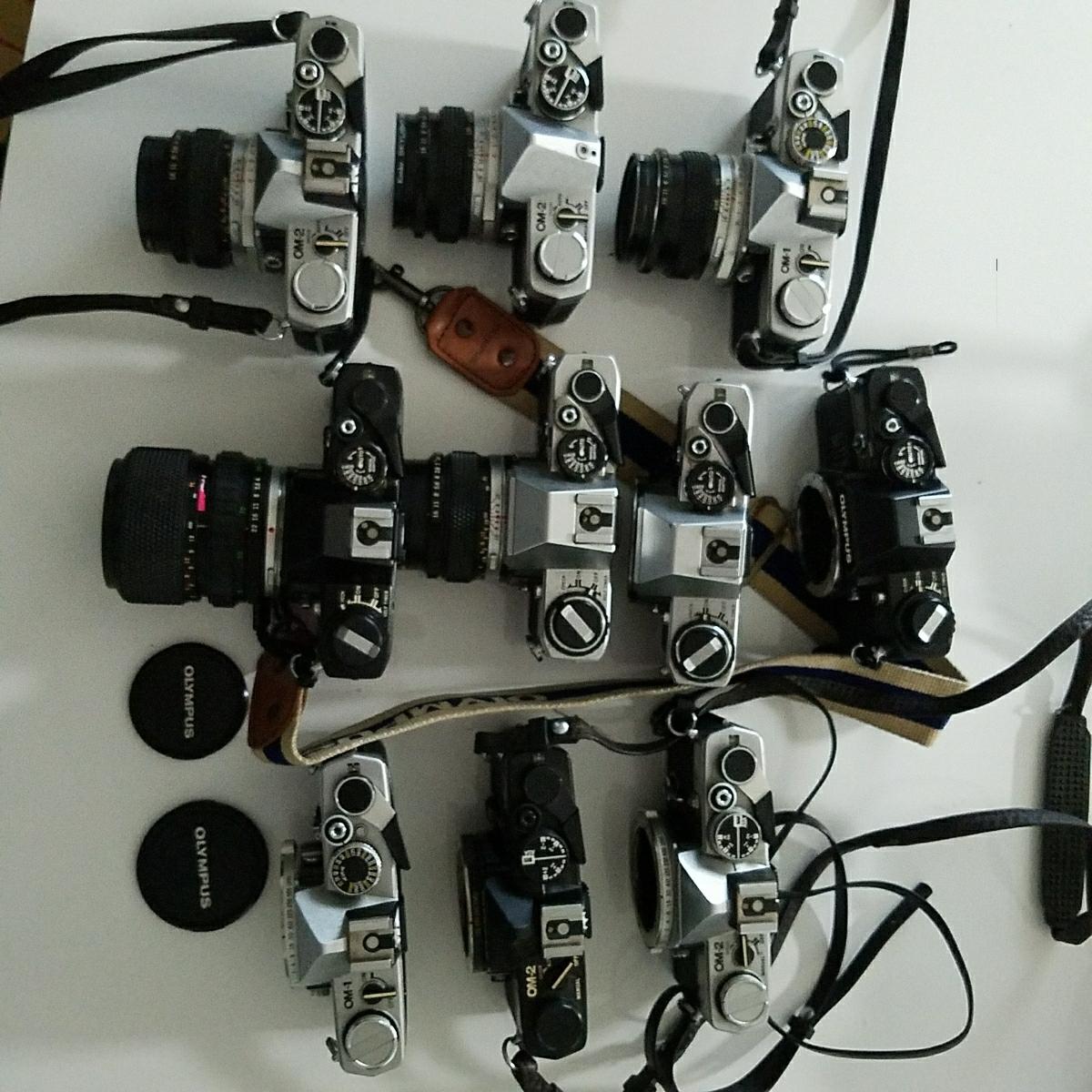 OLYMPUS オリンパス 一眼レフ カメラ セット OM-1 OM-2 OM-10_画像7