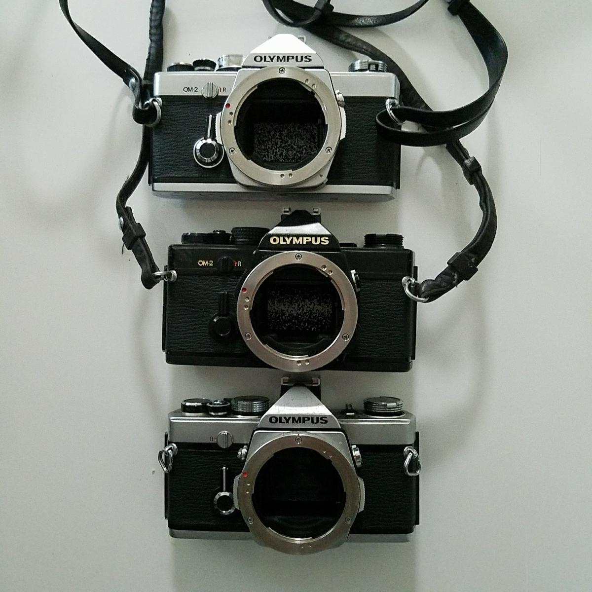 OLYMPUS オリンパス 一眼レフ カメラ セット OM-1 OM-2 OM-10_画像5