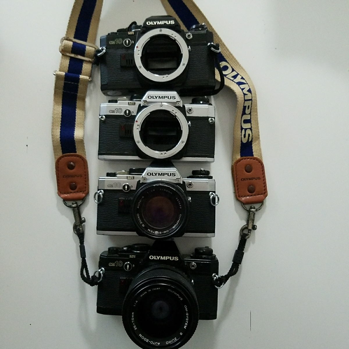 OLYMPUS オリンパス 一眼レフ カメラ セット OM-1 OM-2 OM-10_画像3