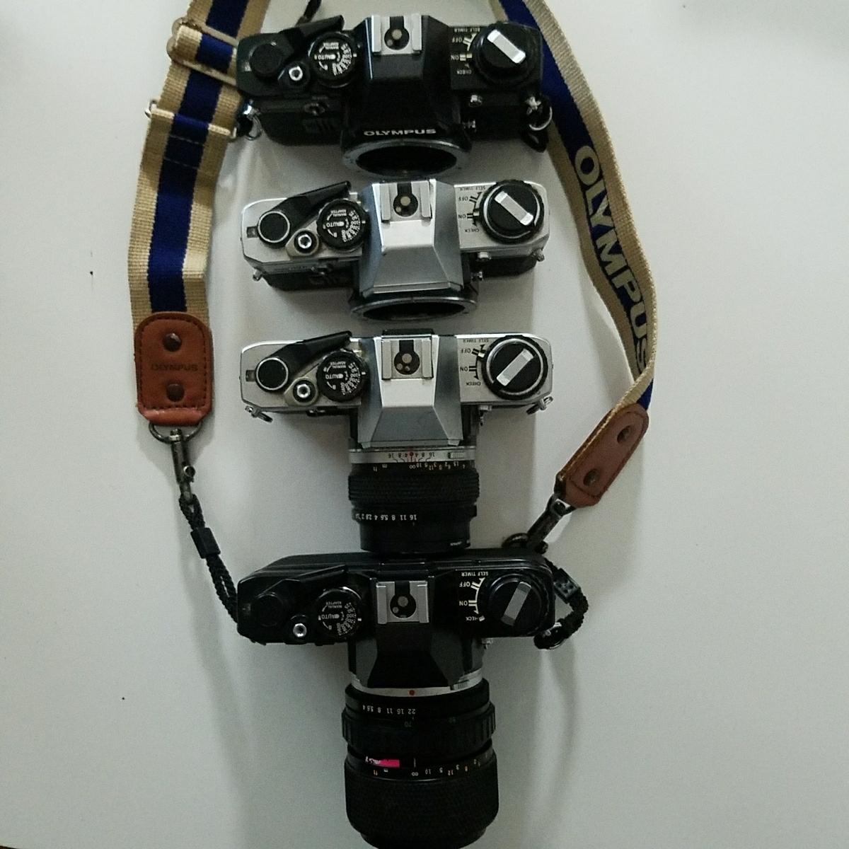 OLYMPUS オリンパス 一眼レフ カメラ セット OM-1 OM-2 OM-10_画像4