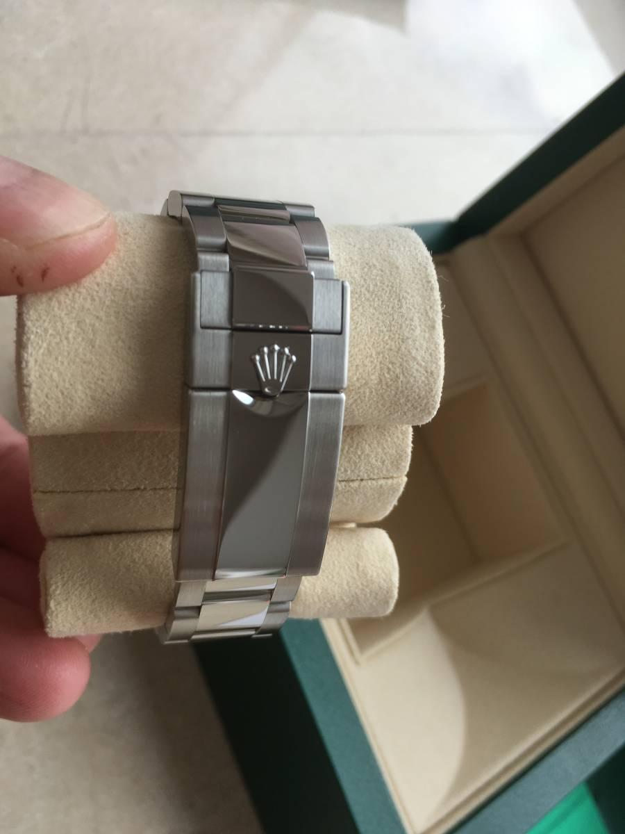 都内百貨店購入品 GMTマスター2 ステンレスモデル 116710LN 新品 未使用品 _画像6