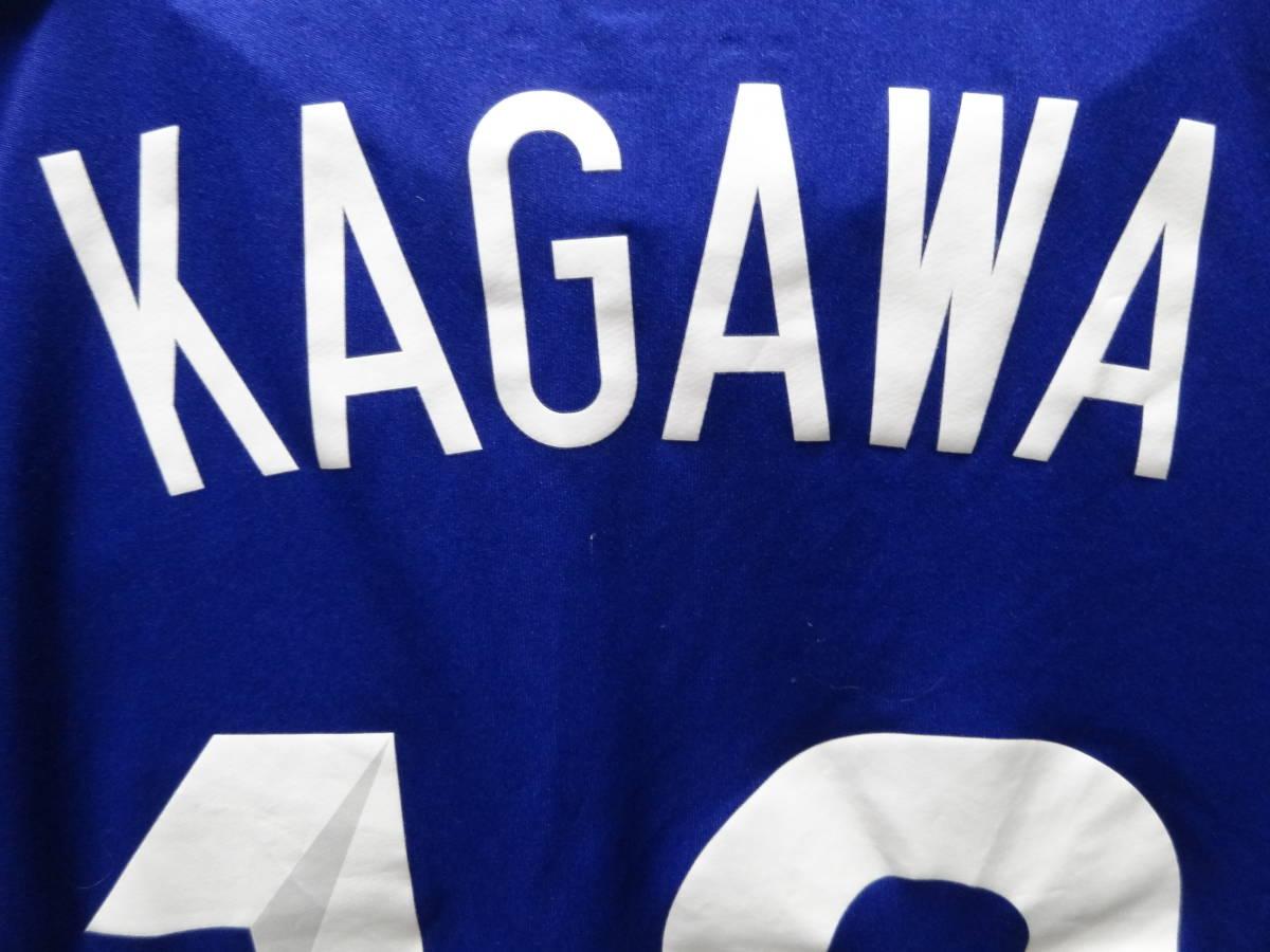 日本代表 #10 KAGAWA 香川 14/15 オーセンティック ホーム ユニフォーム S 美品 アディダス ADIDAS Japan 選手仕様_画像9