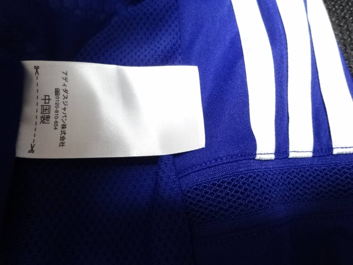 日本代表 #10 KAGAWA 香川 14/15 オーセンティック ホーム ユニフォーム S 美品 アディダス ADIDAS Japan 選手仕様_画像8