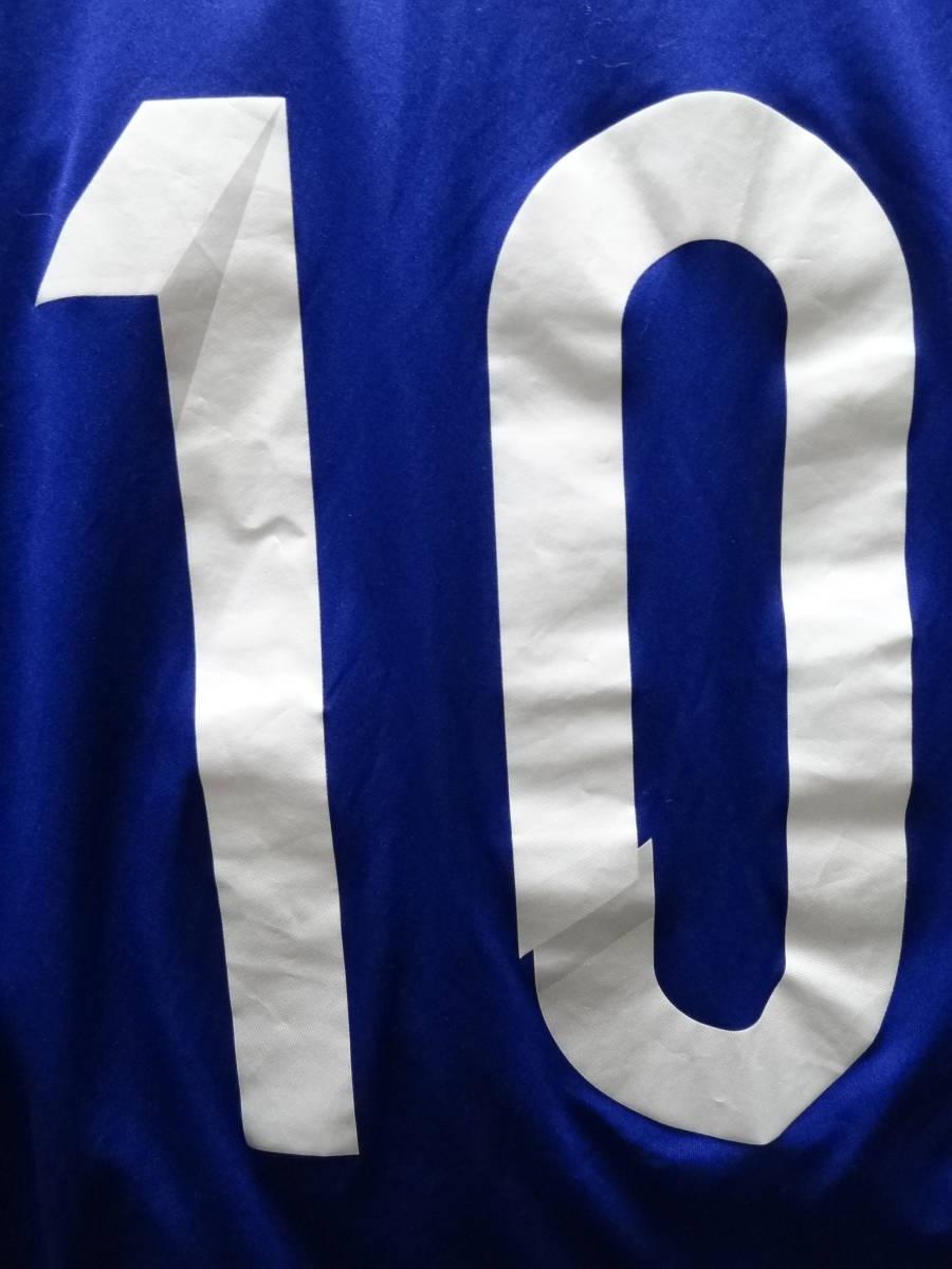 日本代表 #10 KAGAWA 香川 14/15 オーセンティック ホーム ユニフォーム S 美品 アディダス ADIDAS Japan 選手仕様_画像10