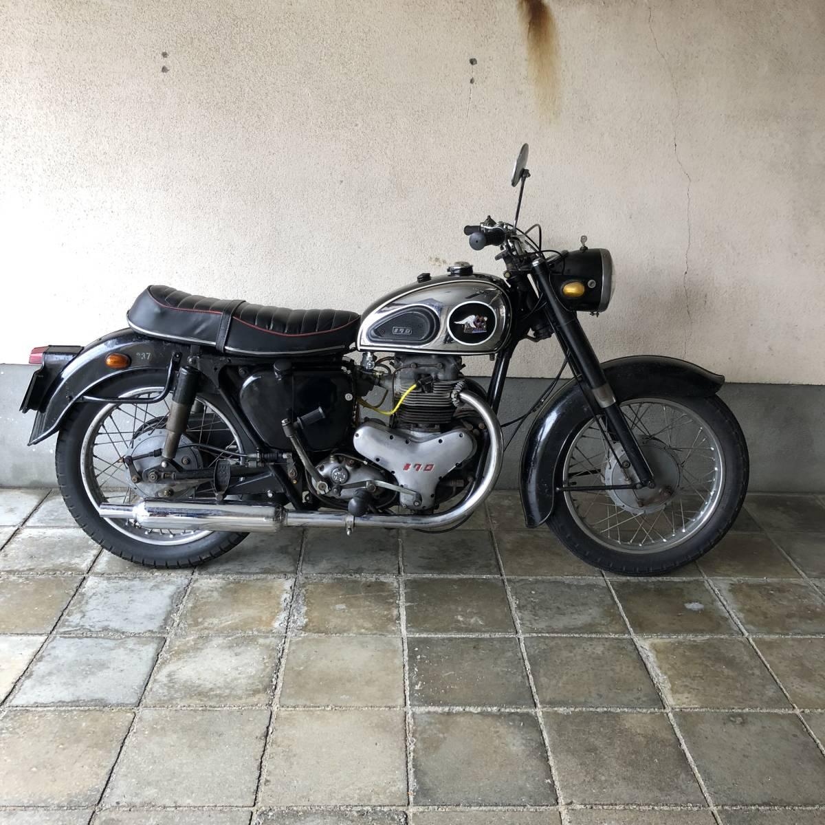 希少 1962年 メグロ K1 実動ベース車両 車検31年11月まで