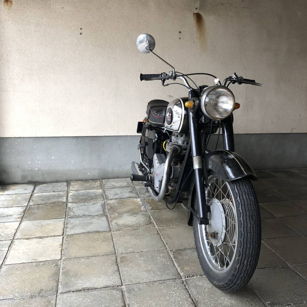 希少 1962年 メグロ K1 実動ベース車両 車検31年11月まで_画像3