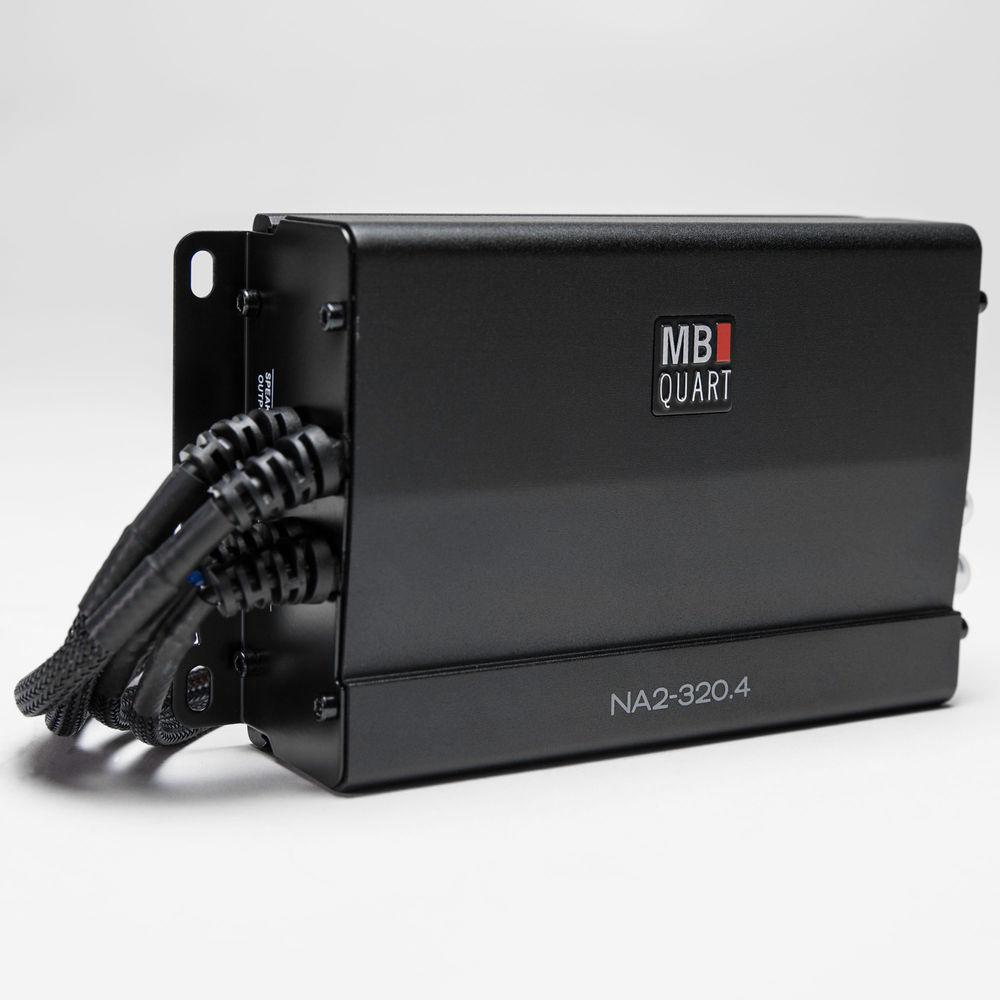 ■USA Audio■MB Quart NA2-320.4 ●超小型 Class D 4ch ●マリーン/モータースポーツ●保証付●税込_画像1