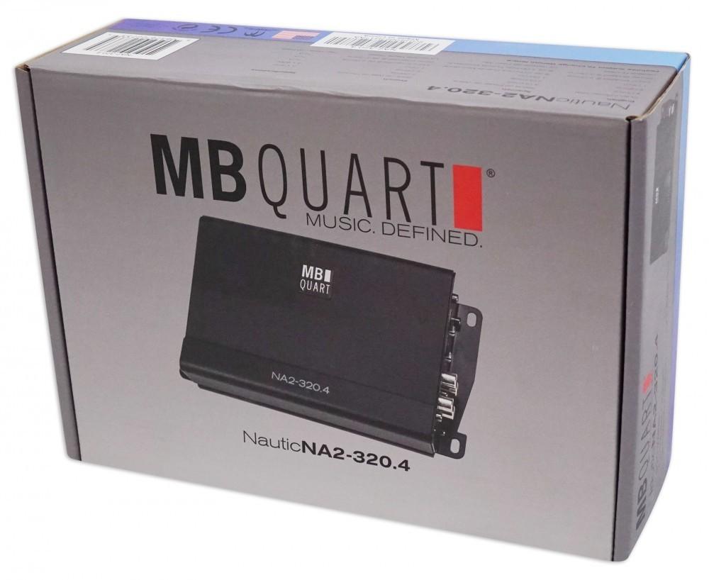■USA Audio■MB Quart NA2-320.4 ●超小型 Class D 4ch ●マリーン/モータースポーツ●保証付●税込_画像10