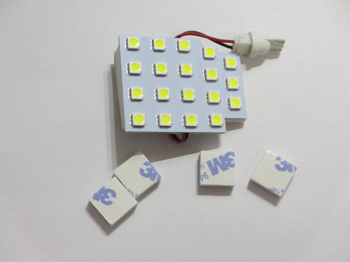 ★送料込・新品★POG 汎用品 LEDルームランプ 19発 T10 TN-900_画像1