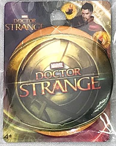 MARVEL(マーベル) DOCTOR STRANGE(ドクター・ストレンジ )ロゴ 缶バッジ(ピンタイプ)_画像1