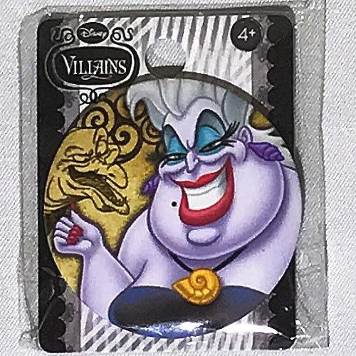 Disney VILLAINS(ヴィランズ) リトルマーメイド Ursula(アースラ) 缶バッジ(ピンタイプ)_画像1