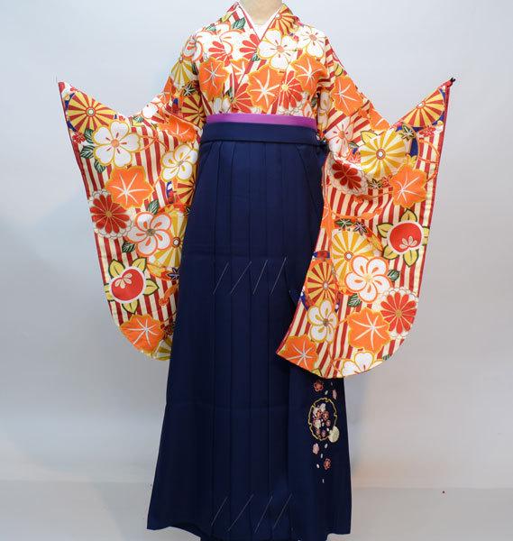 二尺袖 着物 袴フルセット 夢千代 着物丈は着付けし易いショート丈 新品 (株)安田屋 NO29011_画像2