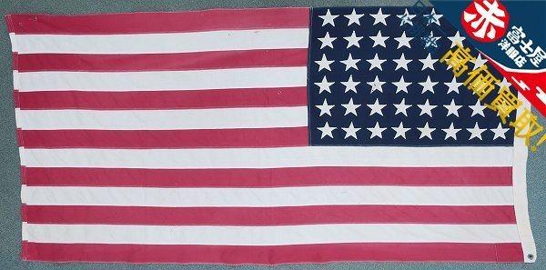 3T3958/ビンテージ 星条旗 48星 アメリカンフラッグ 国旗