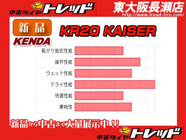 ◆新品サマータイヤ◆ケンダ(KENDA) KAISER KR20 265/30R19 93W XL 【正規品】送料・総額が安い!▲2本セット売り ★スポーツ系タイヤ_ケンダ KR20 265/30R19