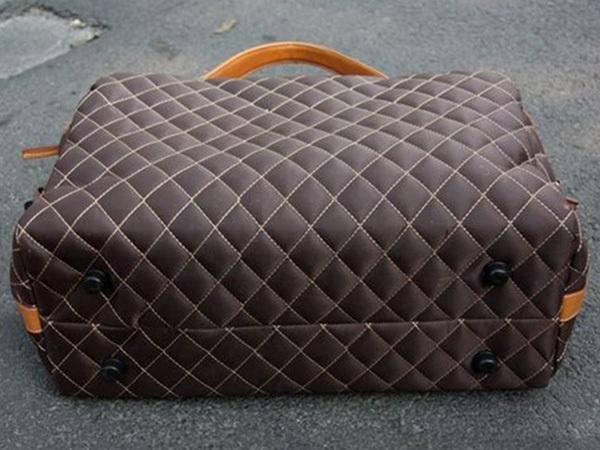 MY BAG ボストンバッグ 旅行鞄 大容量 レザー メンズ 2WAY ショルダー付き トートバッグ 出張 高級防水ナイロン 超大旅行鞄 8949 コーヒー_画像2