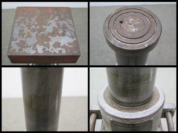 △3 大阪ジャッキ 油圧ジャッキ 20ton 手動/油圧式ジャッキ/20トン/点検/メンテナンス_画像4