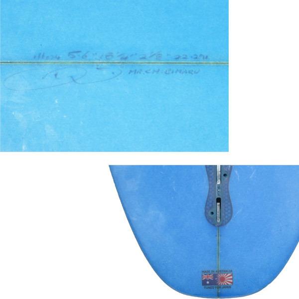 """【中古】DMSサーフボード/The Supercellモデル/5'6""""(167.6cm)日本のアベレージウェーブで より攻撃的サーフィン!!_画像5"""