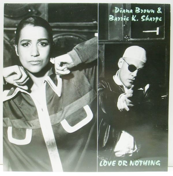 良品!! 12インチ UKオリジナル DIANA BROWN & BARRIE K. SHARPE Love Or Nothing ('91 FFRR) Don't Cross The Tracks 収録 サンプリング_画像1