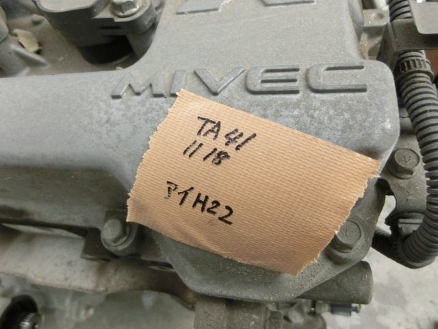 後期アイ  エンジン 3B20 9.9万㌔ 平成22年 DBA-HA1W i ハーネス付    o._画像8