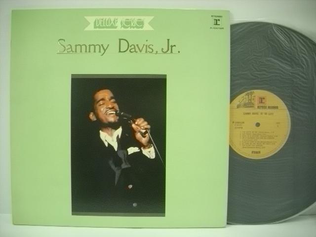■LP サミー・デイヴィス・ジュニア / サミー・デイヴィス・ジュニア・デラックス SAMMY DAVIS JR. DELUXE SERIES_画像1