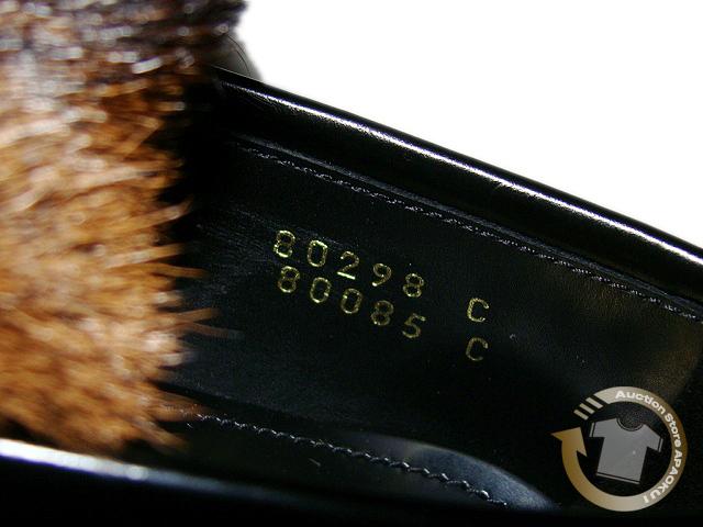 100■17AW プラダ PRADA ファータッセルローファー ブラック5 コレクションモデル_画像7