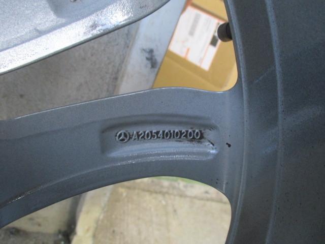 ベンツ純正 W205 Cクラス 17インチアルミホイール タイヤ付1本 205 401 0200 _画像7