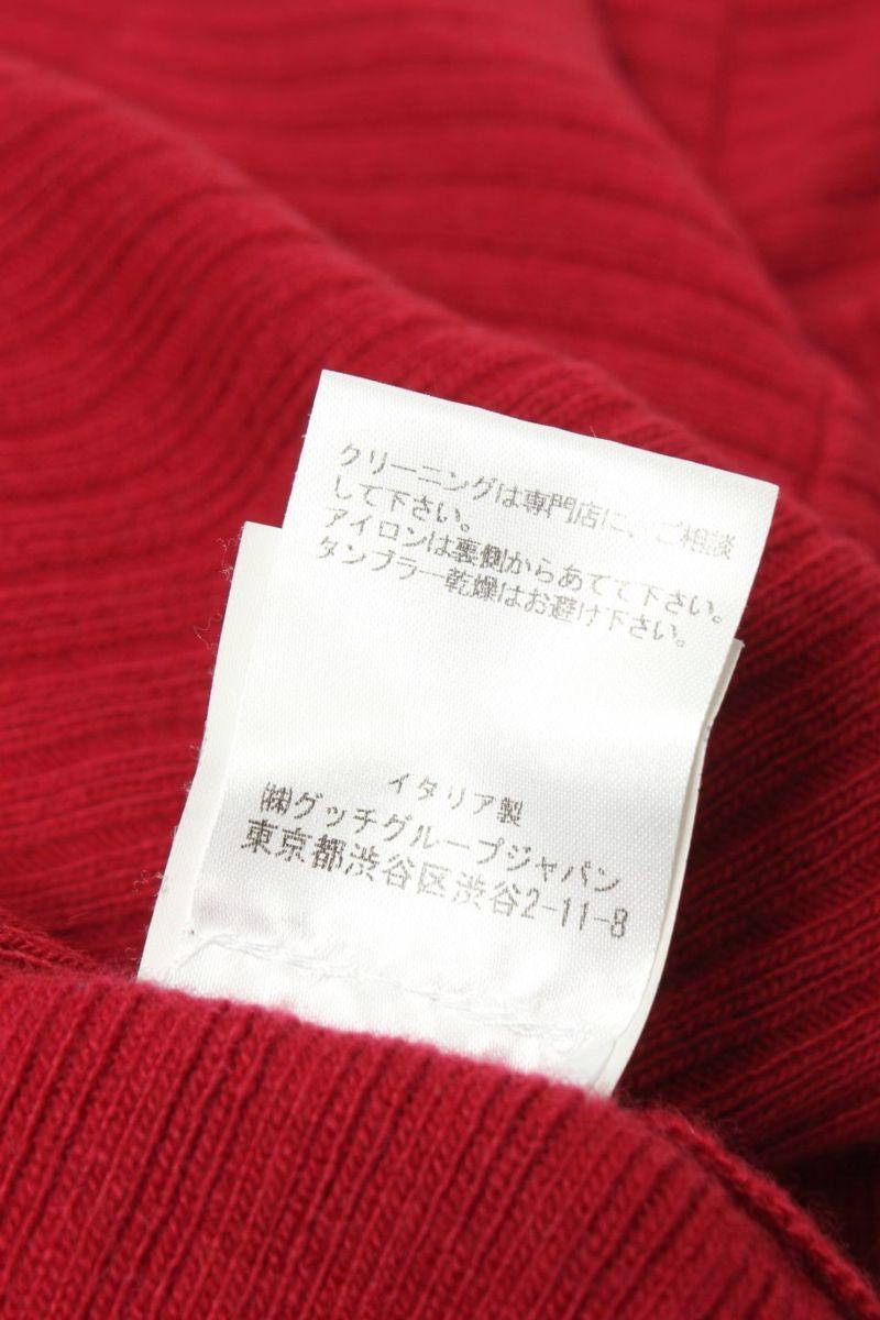 イヴサンローラン Yves Saint Laurent セーター ニット ウール100 カシミヤ カシミア イタリア製 M_画像5