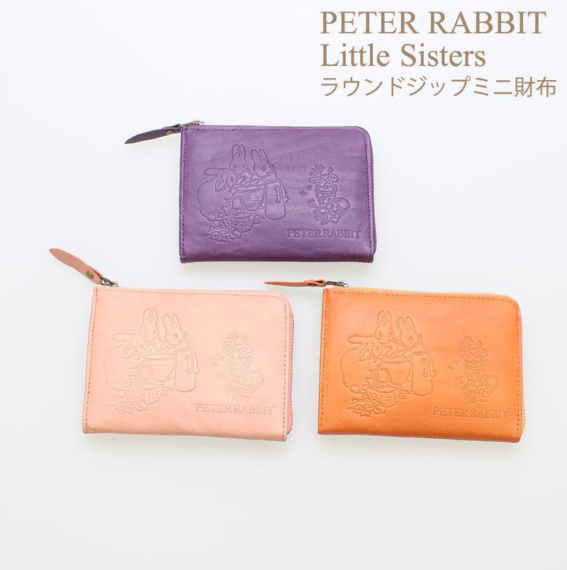 2afdaa02edbe 代購代標第一品牌- 樂淘letao - PETER RABBIT Little Sisters ピーターラビットラウンドジップミニ財布カラー:ピンク