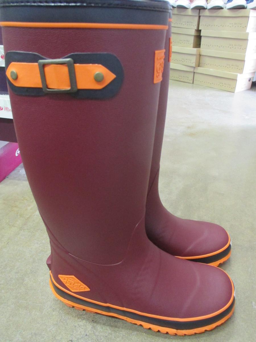 レディース 長靴 ブーツ ミツウマ G-フィールド No.4005MUCE ワイン SS(23.0cm)定価:6600円(税込み)_画像1