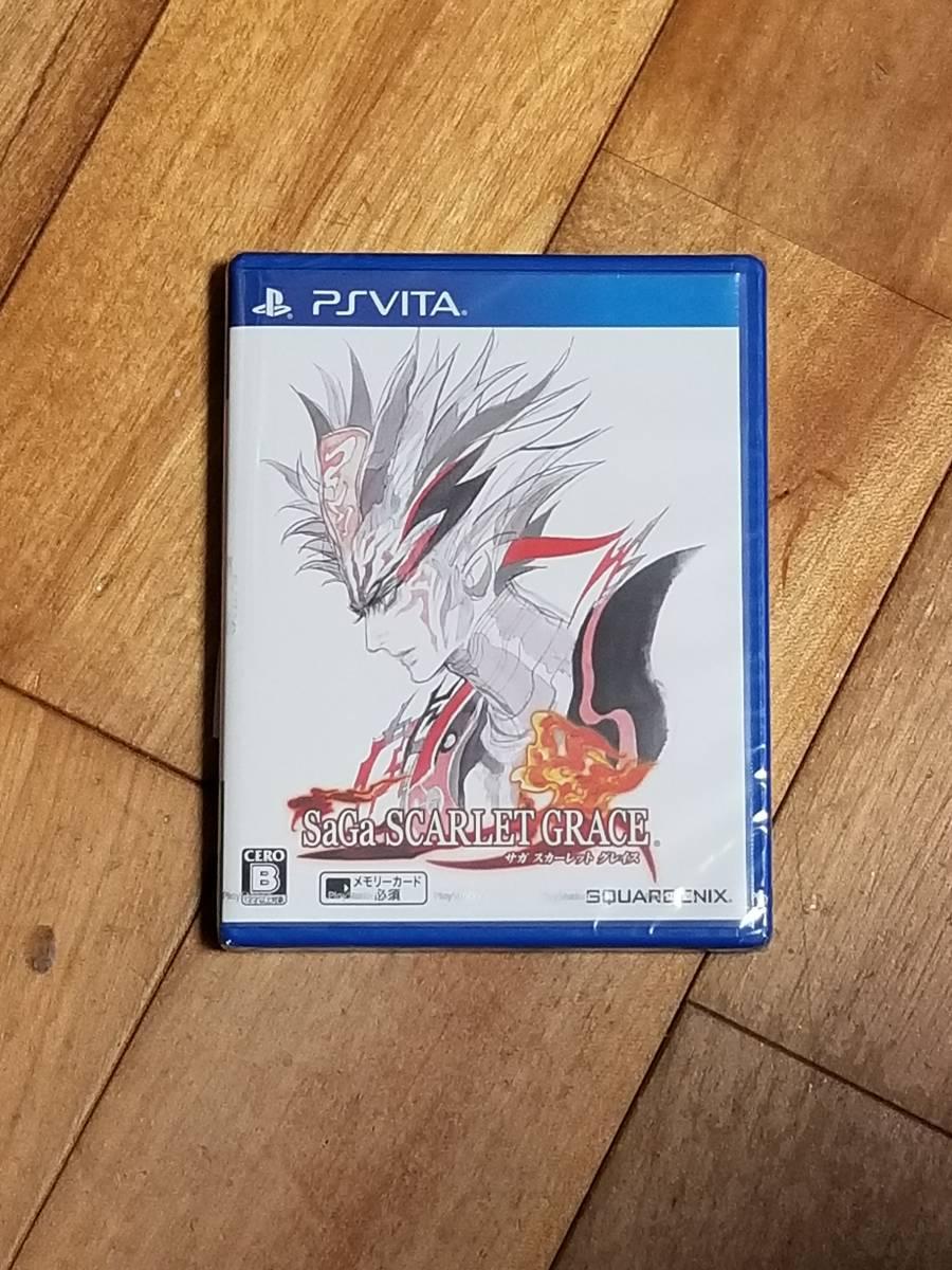 【新品未開封】サガ スカーレット グレイス - PS Vita (KC-086)_画像1