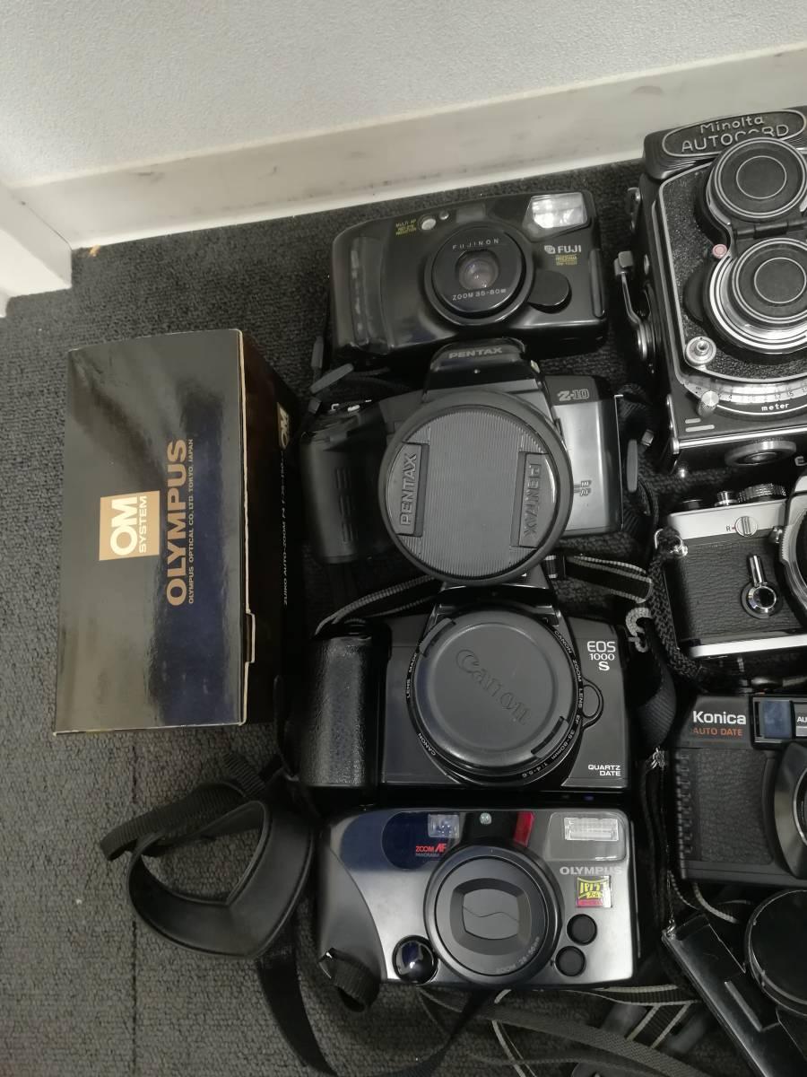 カメラおまとめ NIKON・PENTAX・KONICA・CANON・OLYMPUSなど 動作未確認 1円~_画像2