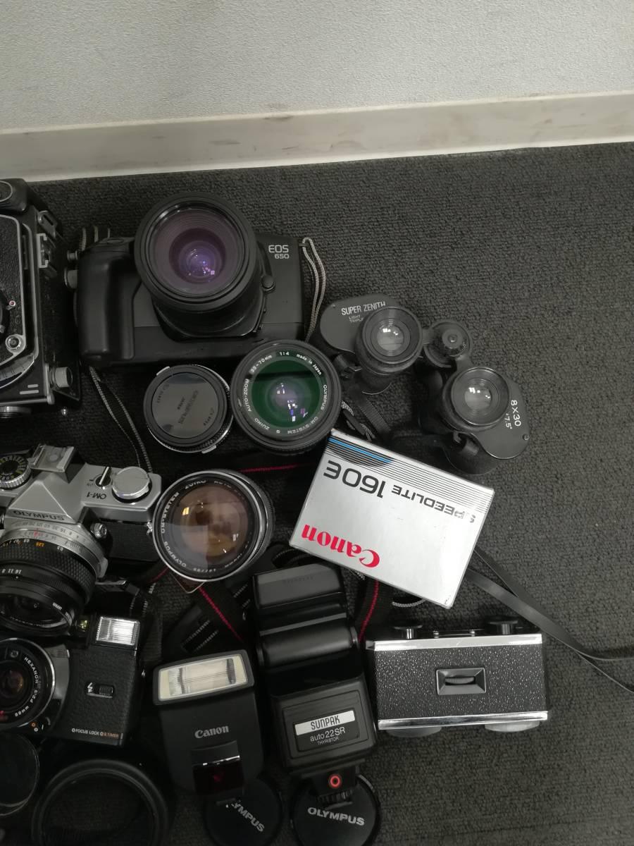 カメラおまとめ NIKON・PENTAX・KONICA・CANON・OLYMPUSなど 動作未確認 1円~_画像4