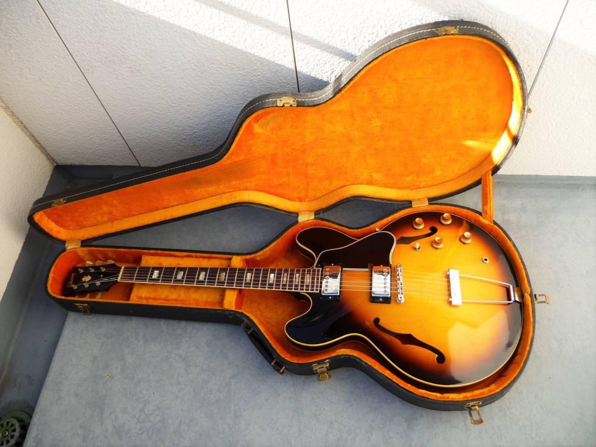 1966年製 GIBSON ES-335 ギブソン オールオリジナル、ミント